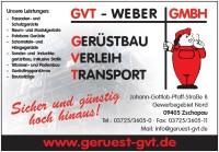 Ger�stbau Weber